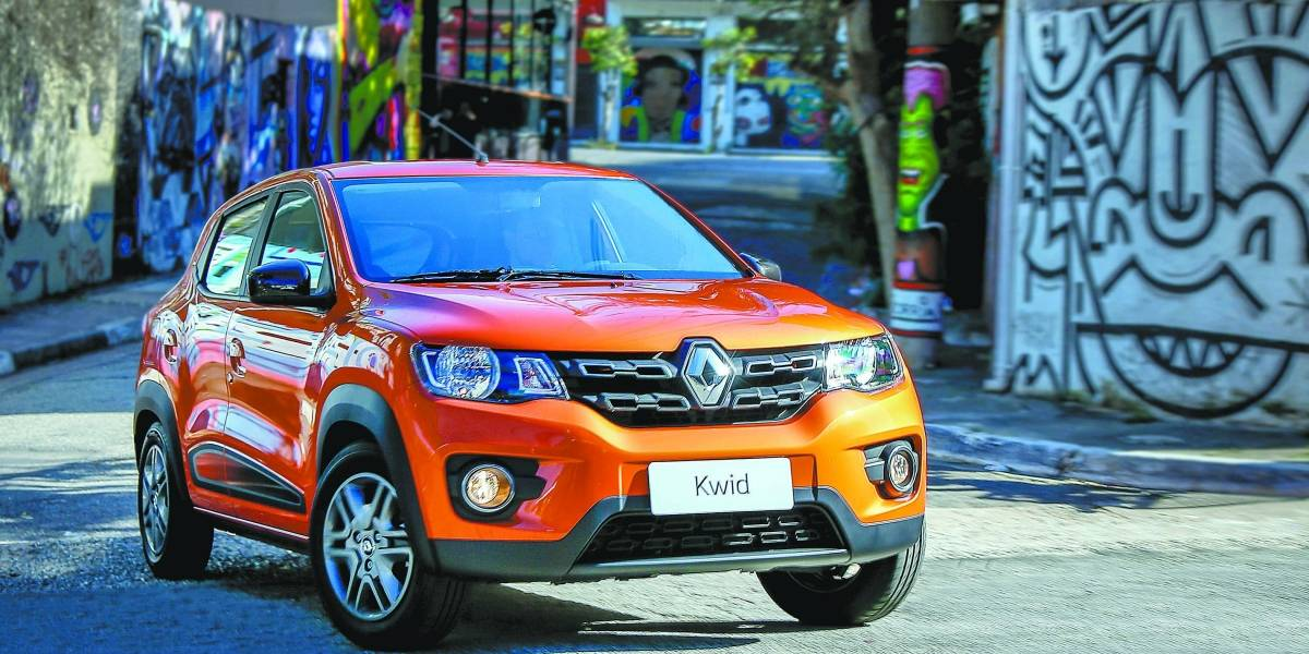 Renault Kwid chega para assustar os rivais