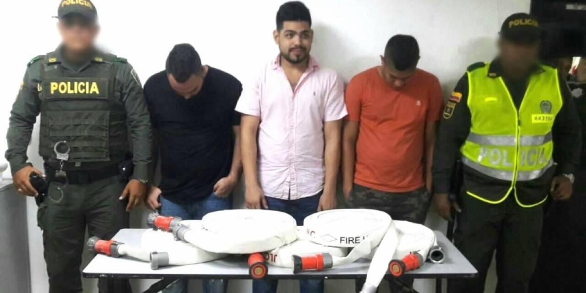 Se roban hasta las mangueras contra incendio de los edificios al norte de Barranquilla