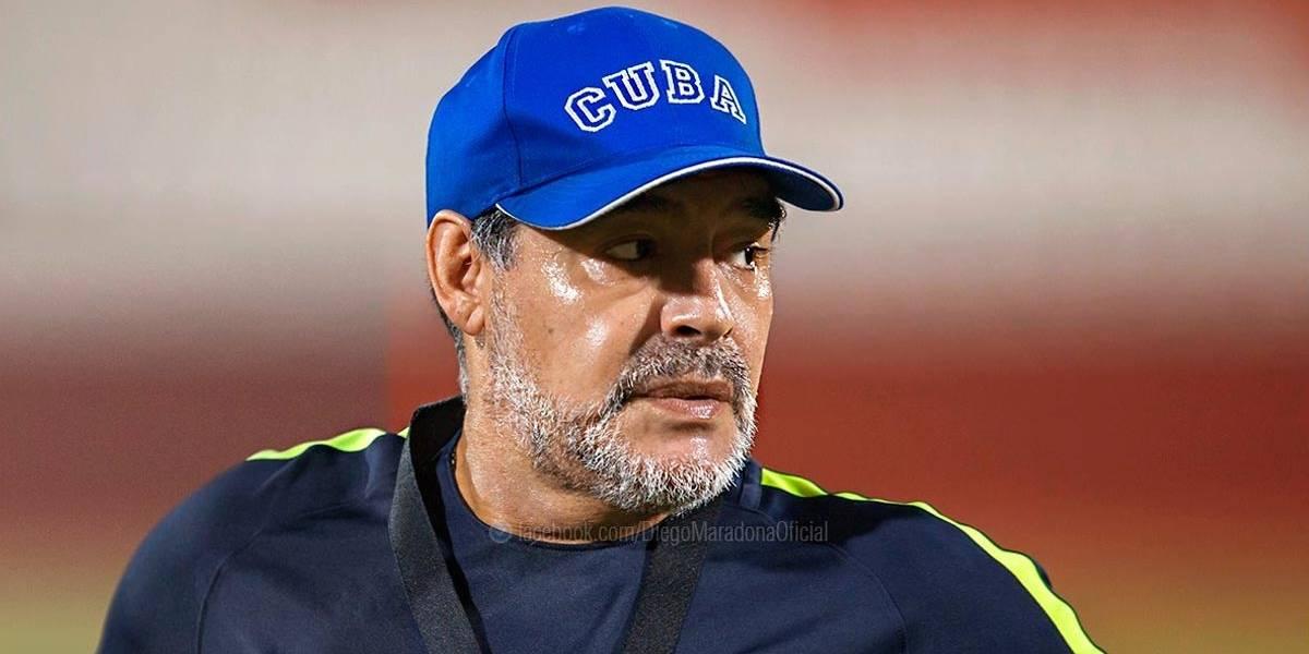 Maradona pede outra oportunidade para treinar Argentina