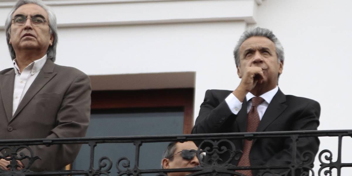 Lenín Moreno pide a representantes de empresas petroleras trabajar con transparencia