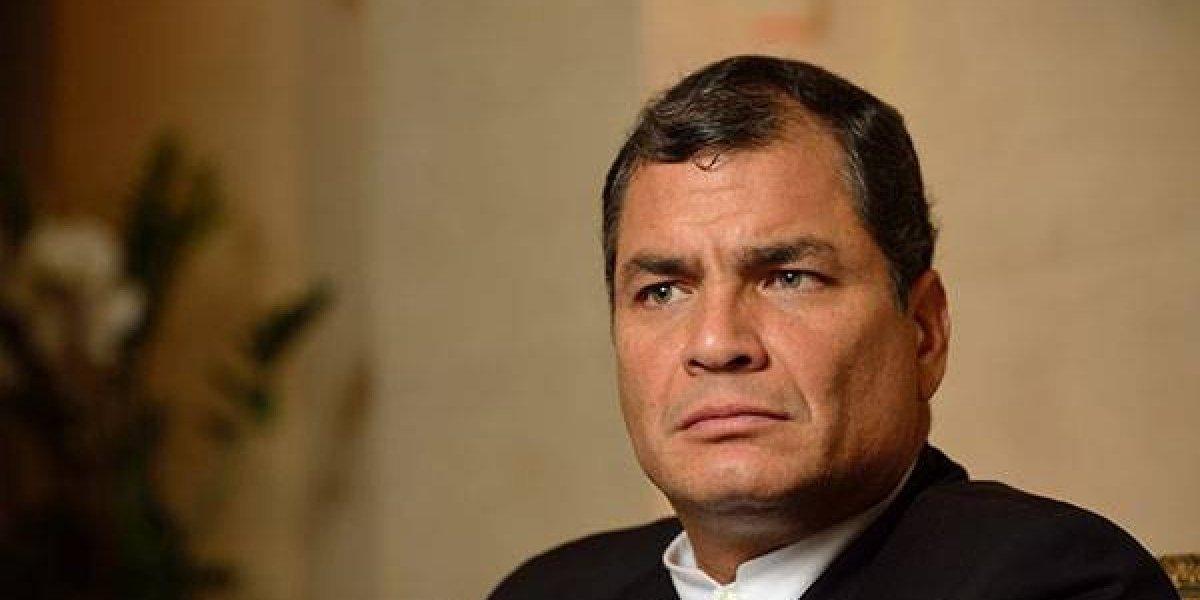 Rafael Correa envió tuit en apoyo a Venezuela