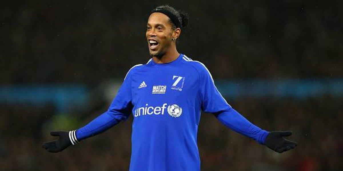 Ronaldinho sortea una convivencia con él en su casa de Río de Janeiro
