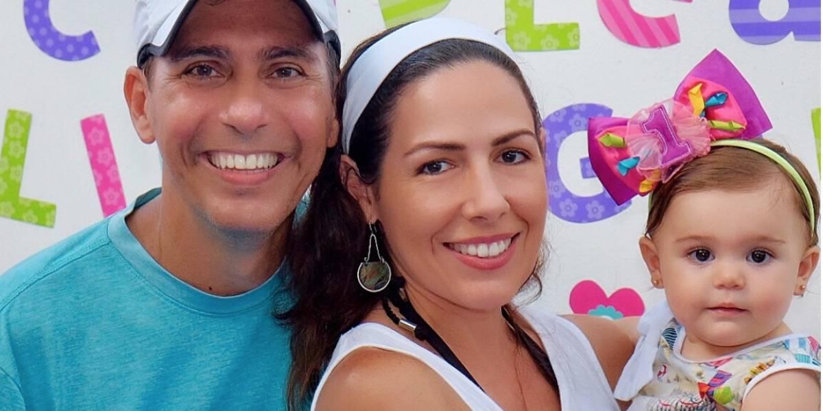 Hija de Jorge Castro y Alfonsina celebra su primer añito en la playa