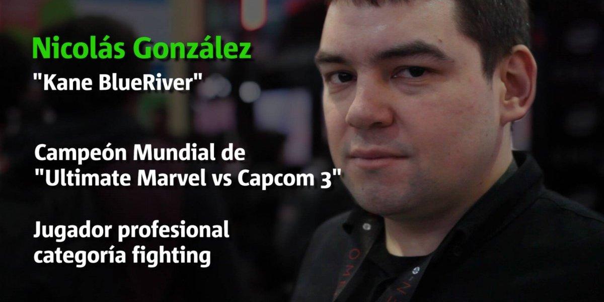 """Kane BlueRiver, campeón mundial gamer: """"En Chile hay que cambiar la mentalidad"""""""
