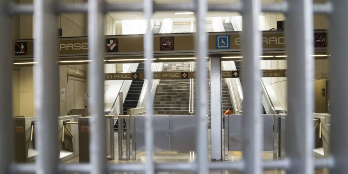 Reportan balacera en inmediaciones del Metro Tláhuac