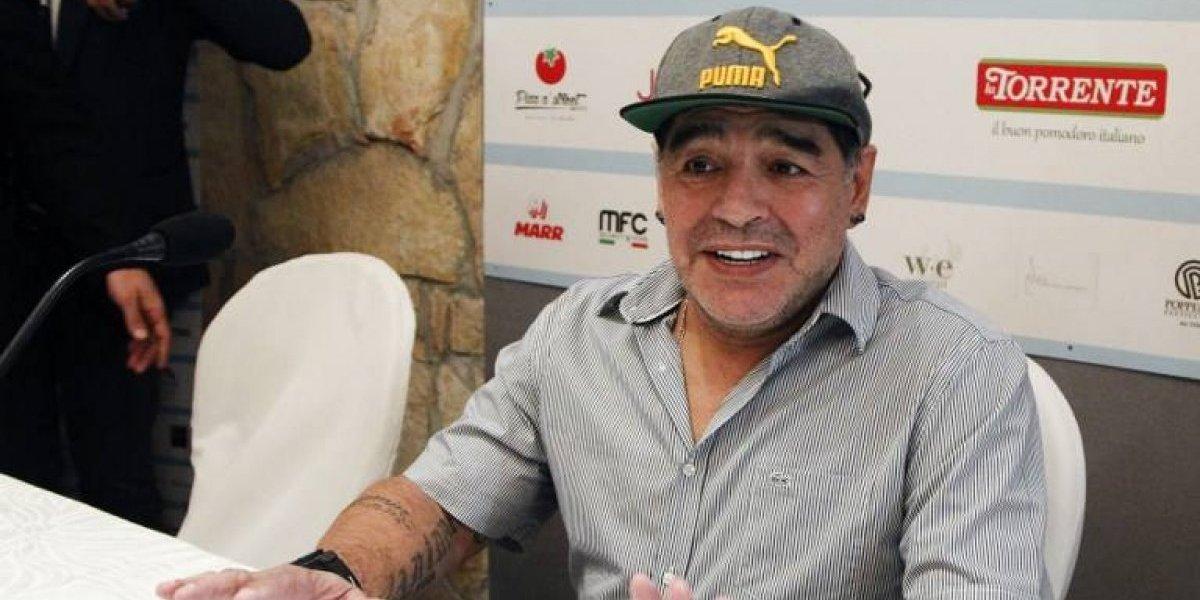 """Maradona responde a opositor de Maduro: """"Yo no me vendí nunca"""""""