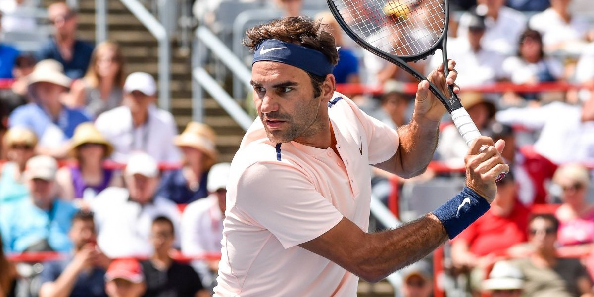 Federer debutó ganando en Montreal con el número uno del mundo en la mira