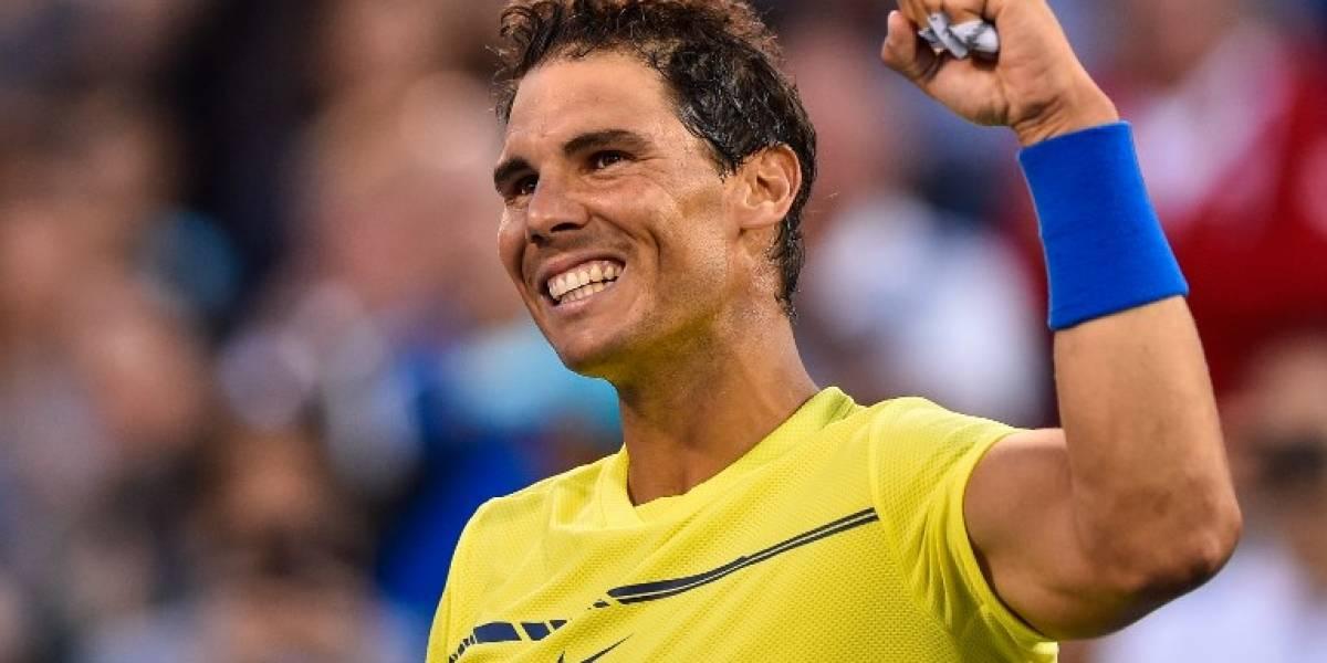 Nadal barre a Coric y queda a dos triunfos de volver al Nº1 del tenis mundial