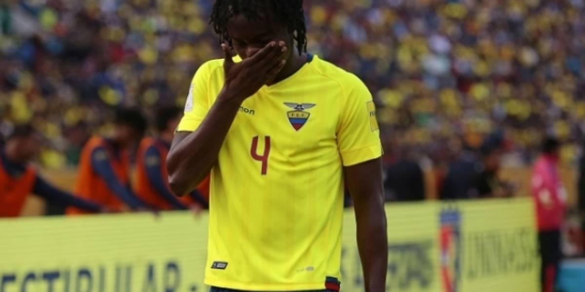Juan Carlos Paredes, habilitado para jugar con Emelec