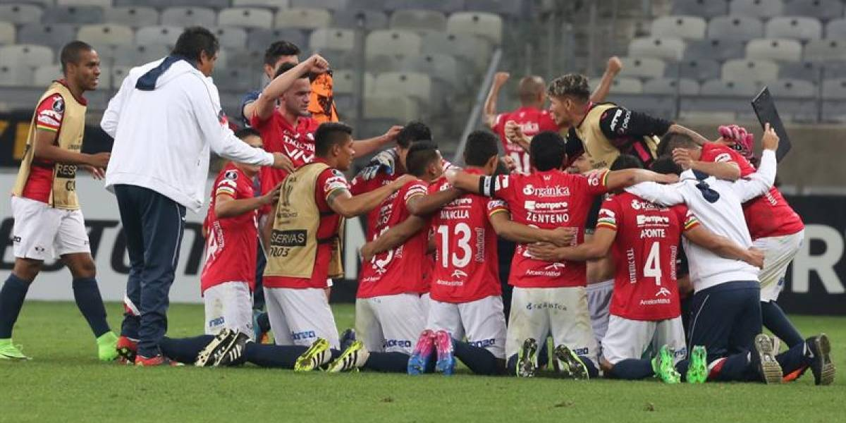 Jorge Wilstermann de Raúl Olivares logra la hazaña en la Copa Libertadores