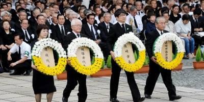 72 aniversario de la bomba atómica en Nagasaki