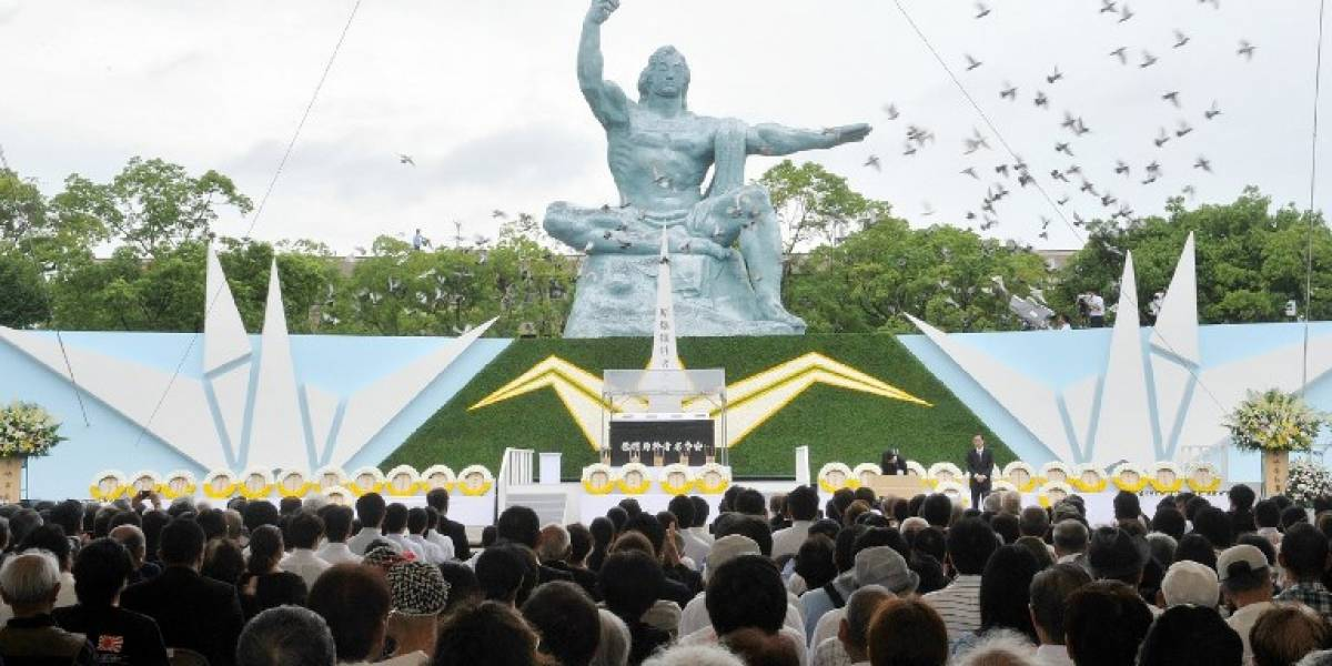 EN IMÁGENES. Nagasaki conmemora aniversario de la bomba atómica