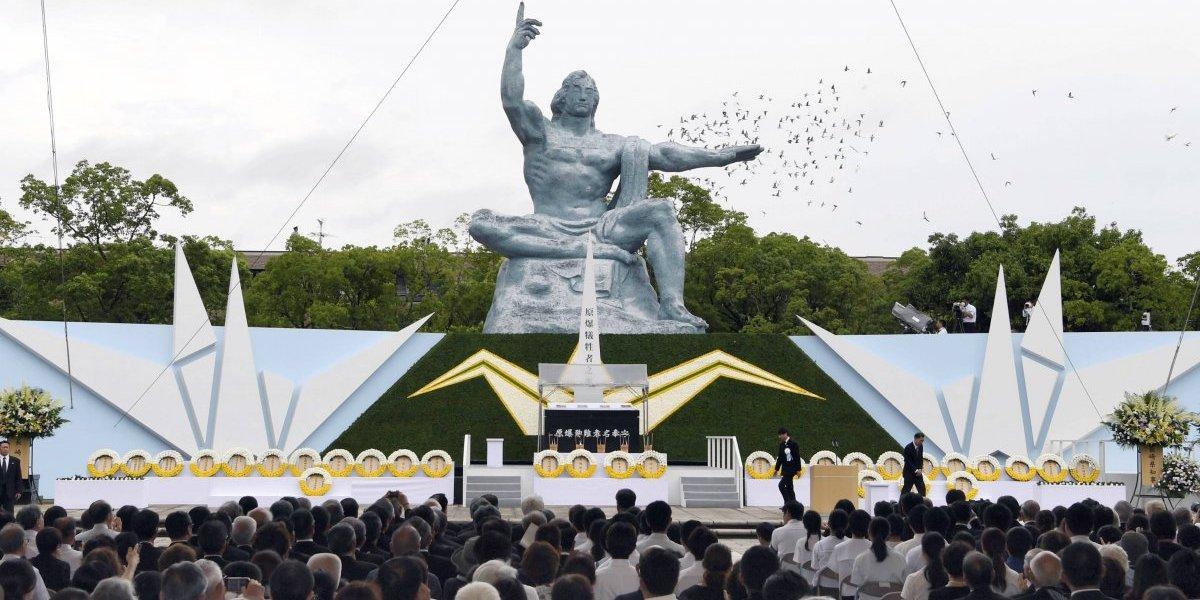 Nagasaki conmemora el 72º aniversario de la bomba atómica