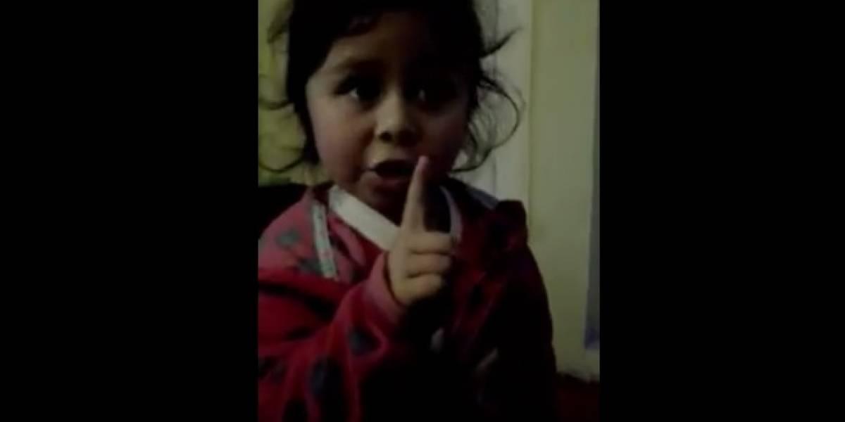 """""""¿Usted tiene que comer?"""": el tierno reto de una niña a su padre que se tomó las redes sociales"""