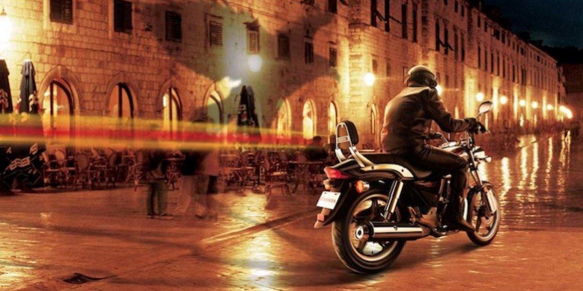 La motocicleta Honda Shadow 150 está inspirada en los modelos choper clásicos