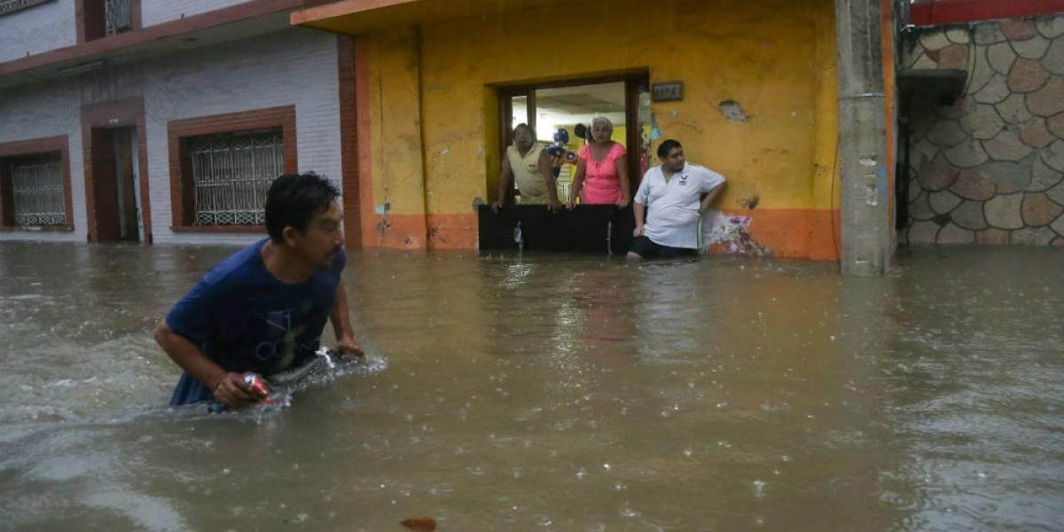 Suspenden clases en Hidalgo y Veracruz por 'Franklin'