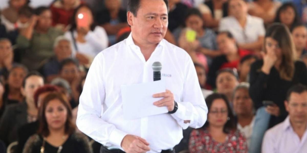 Gobierno Federal mantiene alerta en ocho estados por tormenta Franklin: Osorio Chong