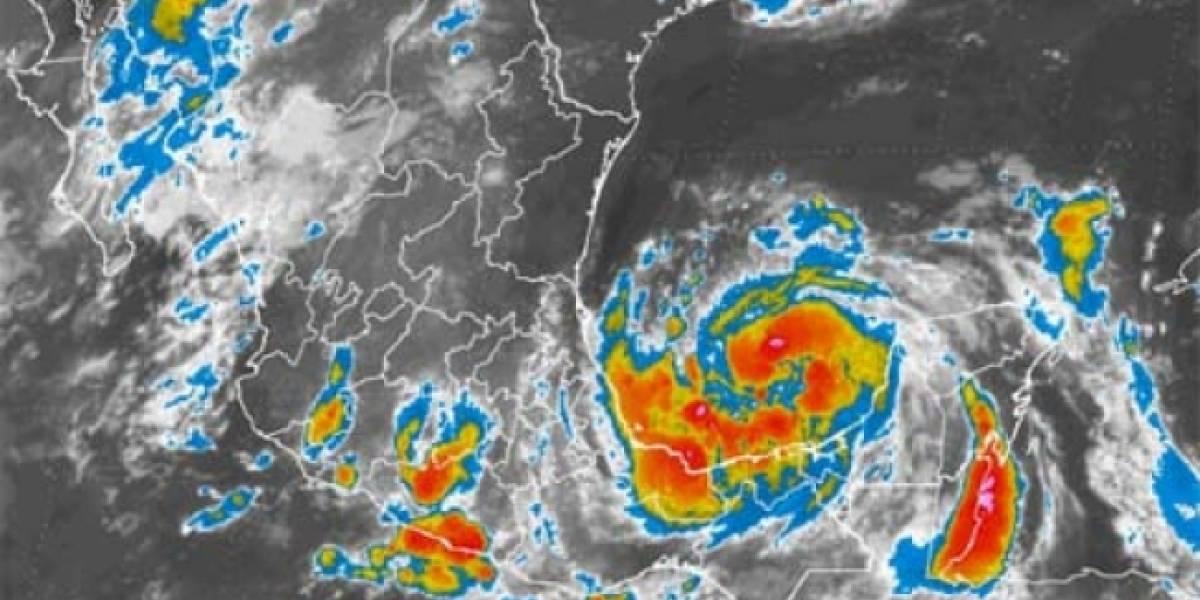 Veracruz eleva la alerta a color naranja por aproximación de tormenta 'Franklin'