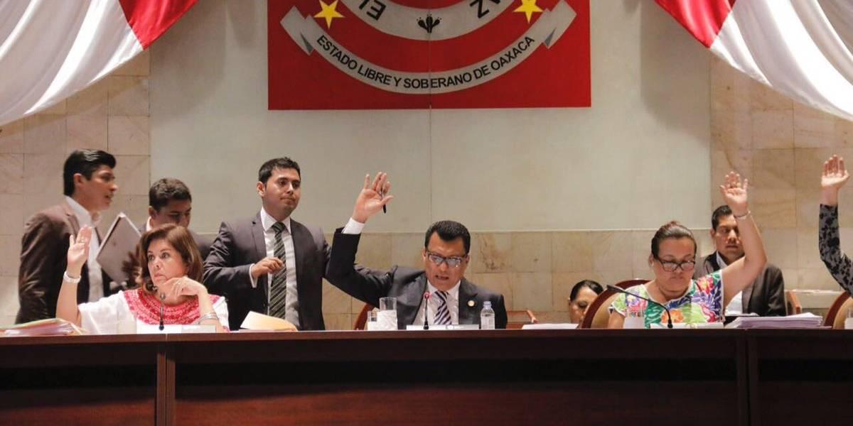 Congreso de Oaxaca aprueba eliminar fuero constitucional