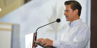 Peña Nieto anuncia inversión histórica de 80 mil mdp para mejorar escuelas
