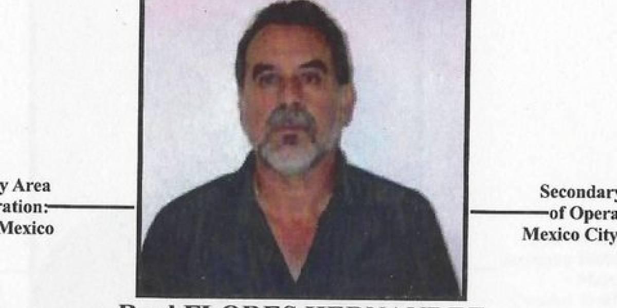 Él es Raúl Flores, colaborador del Cártel de Sinaloa ligado a Márquez y Julión