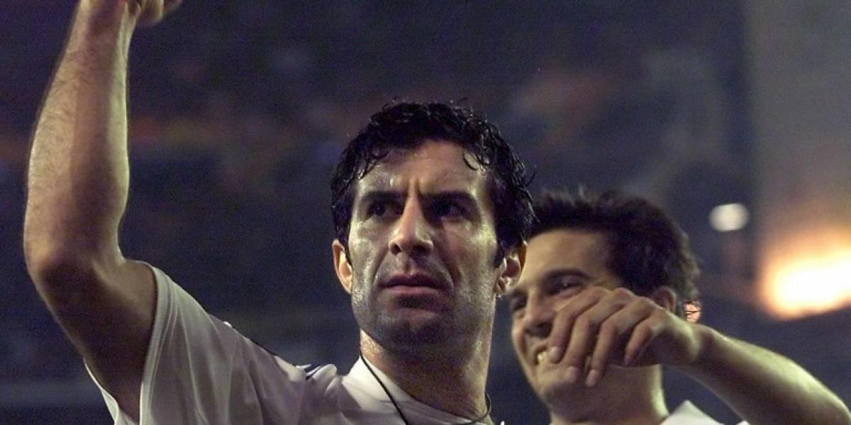 Florentino Pérez revela cómo convenció a Figo para fichar por el Real Madrid