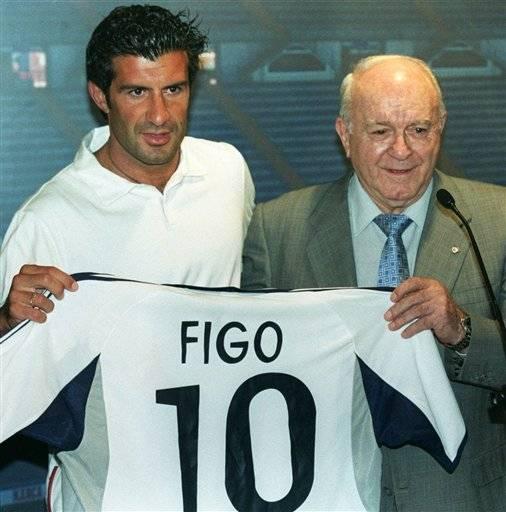 Florentino Pérez sobre Figo: