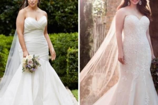 gama completa de artículos moda caliente renombre mundial 10 vestidos de novia que son perfectos para mujeres curvy ...
