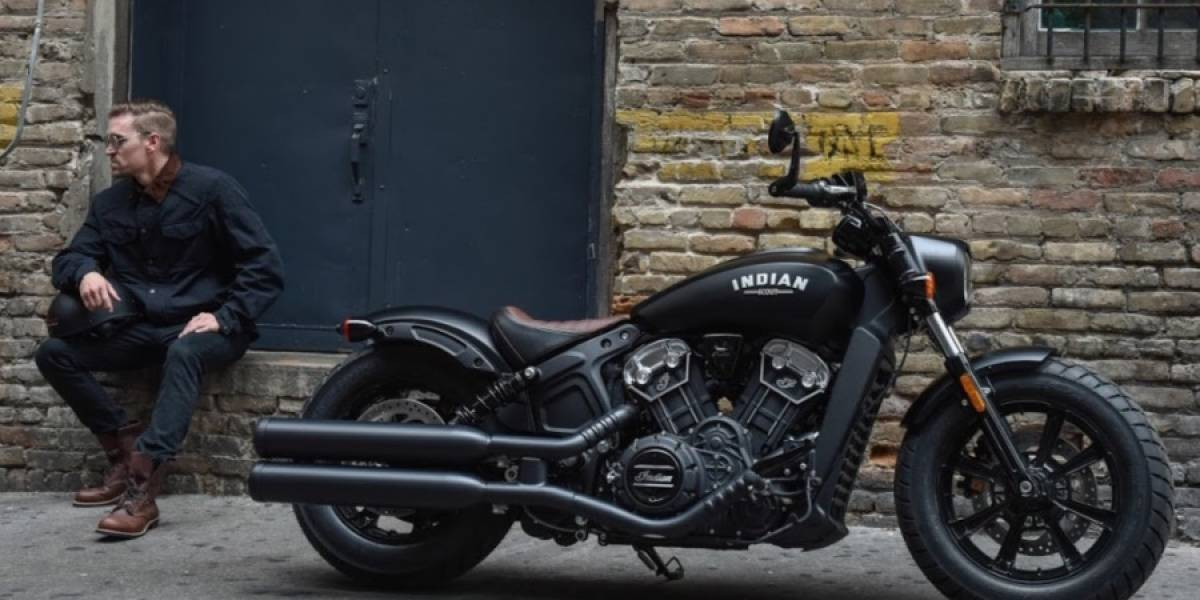 Indian Motorcycle adelanta 2018 con su Scout Bobber
