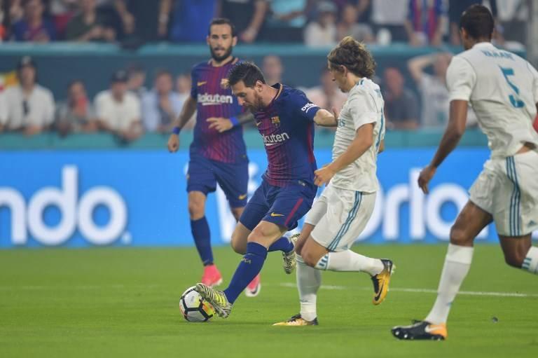 Leo Messi contra Luka Modric