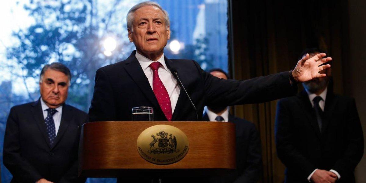 Chile afina la dúplica por demanda marítima