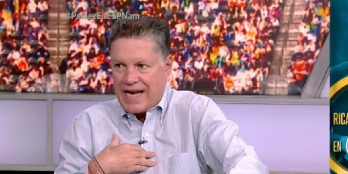 VIDEO: Ricardo Peláez revela la verdad del día que Vela se negó a ir al Mundial
