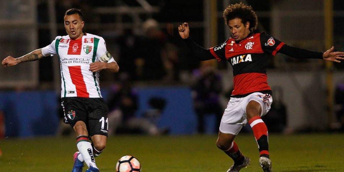 Así vivimos la humillante eliminación de Palestino ante Flamengo en la Sudamericana