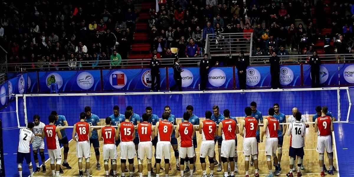 Trastienda del Sudamericano de vóleibol: el ambiente futbolero y el espectáculo se tomaron el CEO