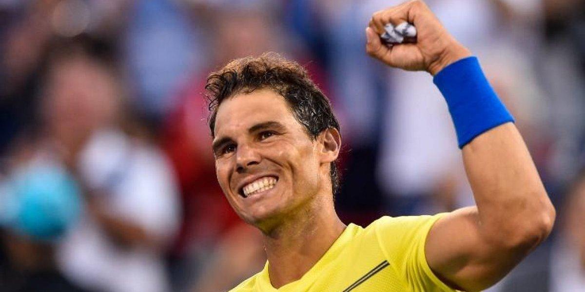 Nadal y Federer avanzan en Masters de Montreal