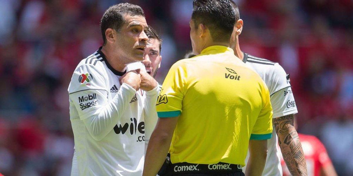 Rafael Márquez no entrenó con el Atlas