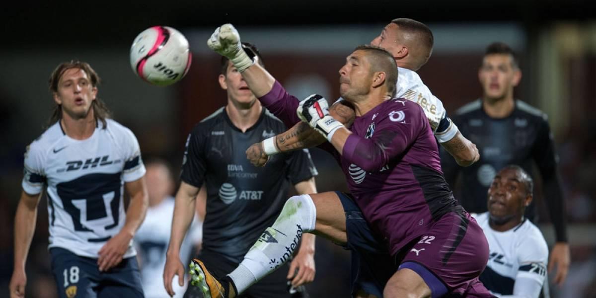 Rayados perdona y empata contra Pumas; pierde racha sin gol en contra