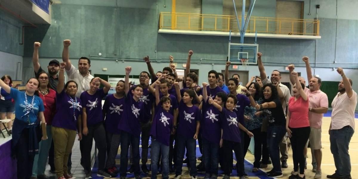 Estudiantes boricuas se preparan para Olimpiadas Mundiales Robótica de Lego