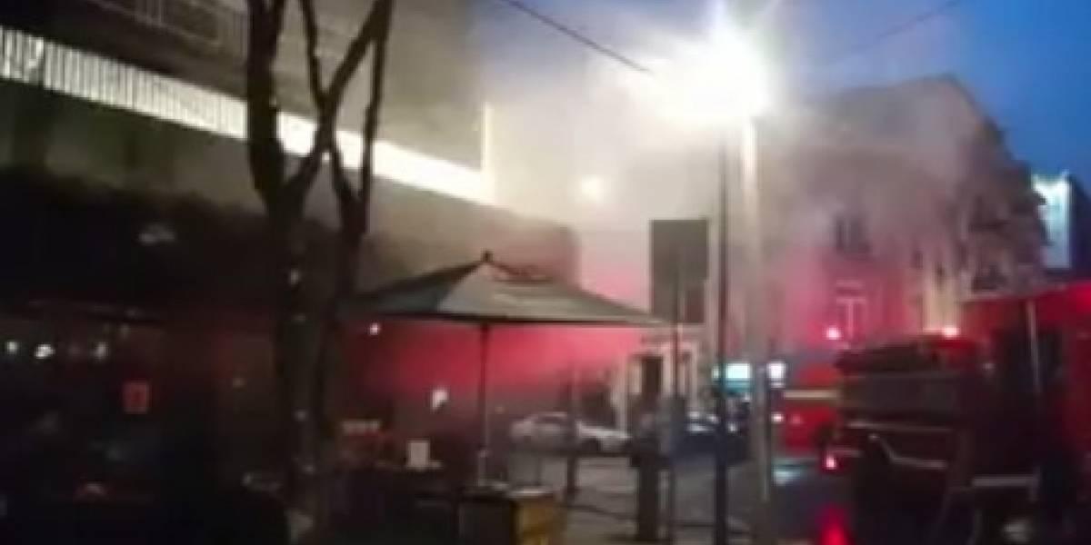 Incendio en restaurante de la Roma deja dos personas intoxicadas