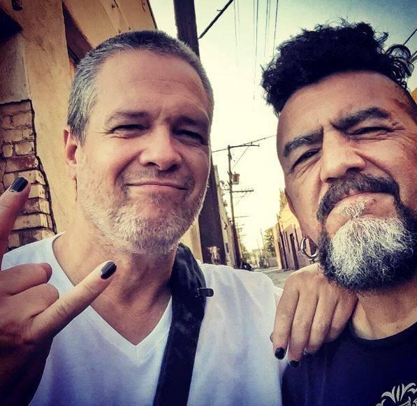 Sergio Arau y José Fors (La Cuca) Cortesía