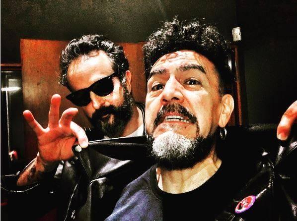 Sergio Arau & Tito Fuentes (Molotov) Cortesía