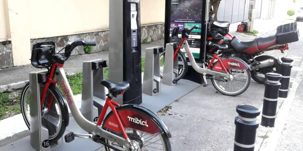 Vandalismo le pega duro a las estaciones de MiBici
