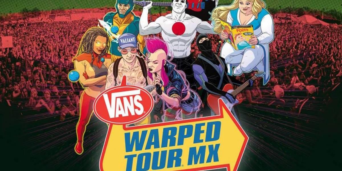 Cancelan Warped Tour México 2017