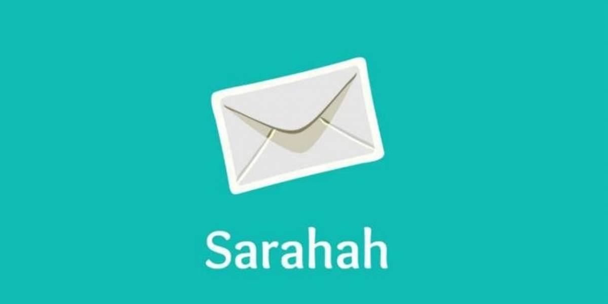 ¿Qué es y cómo funciona Sarahah?