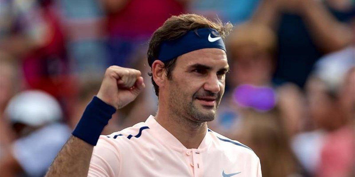 Federer superó a un terco Ferrer y sigue intratable rumbo al título en Montreal