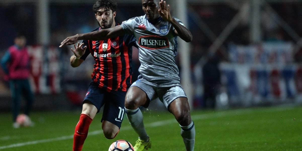 Emelec y San Lorenzo van a penales en la Copa Libertadores