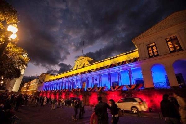 El Palacio de Carondelet conmemora el Primer Grito de Independencia