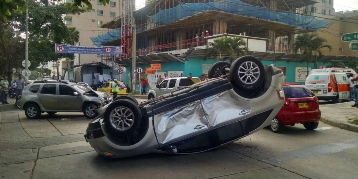 Disminuyeron los accidentes de tránsito fatales en Barranquilla