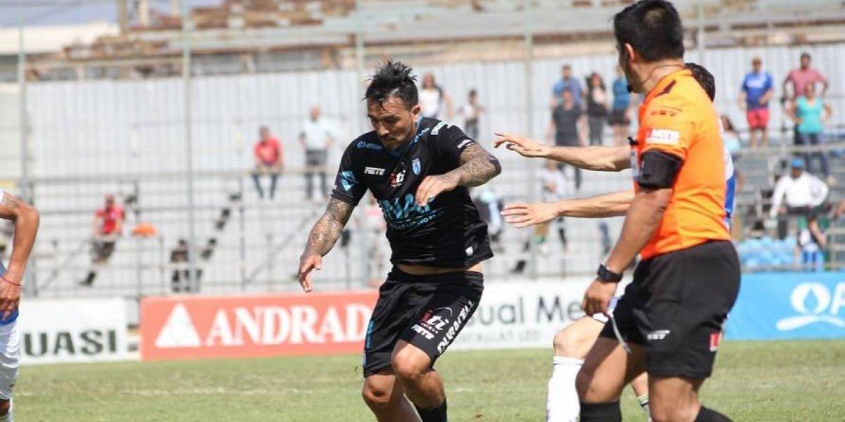 Gerson Acevedo se desvinculó de Deportes Iquique