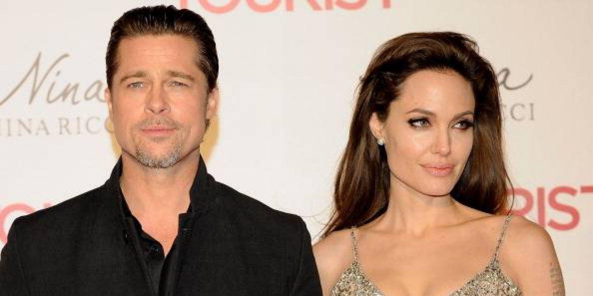 Brad Pitt y Angelina Jolie detienen el proceso de divorcio